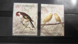 Macedonia Mazedonien 2015  MNH ** Ma 684-685 Birds M - Sperlingsvögel & Singvögel