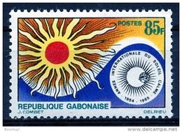 Gabon, 1965, International Year Of The Quiet Sun, Space, United Nations, MNH, Michel 215 - Gabon