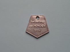 Belasting Op HONDEN West Vlaanderen 1984 ( TOKEN For Dog / Chien TAX / For Detail, Zie/see Photo ) ! - Belgium