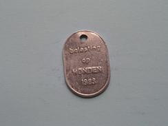 Belasting Op HONDEN West Vlaanderen 1983 ( TOKEN For Dog / Chien TAX / For Detail, Zie/see Photo ) ! - Belgium