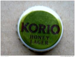 Beer Bier Bottle Cap From Lithuania Korio Honey Lager - Bière