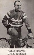 V11334 CP Cyclisme Gilbert Bauvin - Cycling