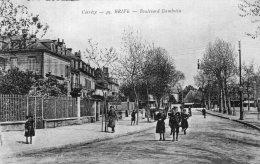 V11369 Cpa 19 Brive - Boulevard Gambetta - Brive La Gaillarde