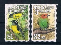 Trinidad & Tobago 1990 Vögel Mi.Nr.613/16 Gestempelt - Trinidad & Tobago (1962-...)