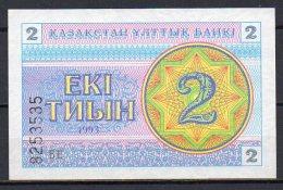 518-Kazakhstan Billet De 2 Tyin 1993 BE325 Neuf - Kazakhstan