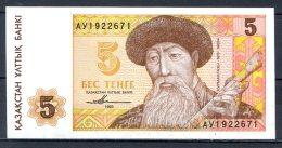 460-Kazakhstan Billet De 5 Tenge 1993 AV192 Neuf - Kazakhstan