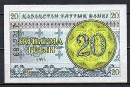 518-Kazakhstan Billet De 20 Tyin 1993 - 681 Neuf - Kazakhstan