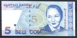 460-Kirghzistan Billets De 5 Son 1997 BL488 - Kirghizistan