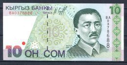 460-Kirghzistan Billets De 10 Son 1997 BA037 Neuf - Kirghizistan