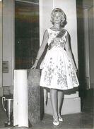 "PHOTO ORIGINALE / PHOTO DE PRESSE ""Nice (06), Miss Livre 1963"" - Photos"