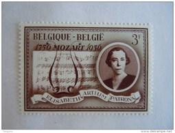 België Belgique Belgium 1966 Koning Reine Elisabeth Muziekpartitie Partition Musicale YV COB 1364 MNH ** - Bélgica