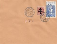 LETTRE.  POSTE SPECIALE FFI.  J L I .   23 8 1944 - Liberation