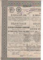 RUSSIE-CHEMIN DE FER DE KOURSK-KHARKOF-AZOF.2000 R M. - Shareholdings
