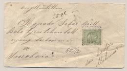 Nederlands Indië - 1894 - 30 Cent Willem III, Enkelfrankering Op R-cover Van Besoeki Naar Soerabaja - Nederlands-Indië