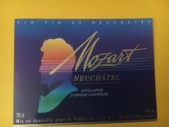 4533 - Mozart Neuchâtel Suisse - Musique