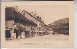 74 - BONNEVILLE - Place Du Parquet - Café Des Postes - Bonneville