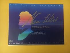 4536 - Non Filtré Neuchâtel Suisse - Musique