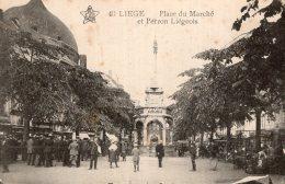B34681 Liege, Petit Paradis, Place Du Marché - Belgique