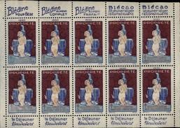 SANTE - Timbres Antiberculeux - Heudebert - Commemorative Labels