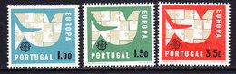 Europa Cept 1963 Portugal 3v ** Mnh (CO324) - Europa-CEPT