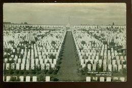 Passchendaele  Passendale  Fotokaart  Carte Photo - Tyne Cot Cemetery  Cimetière  Kerkhof - Zonnebeke