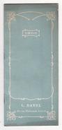 Calendrier De 1908    DANIEL  à Lille    12 Pages     23 X 10.5 Cm - Calendriers