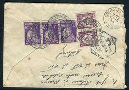 Portugal - Enveloppe En Recommandé De Arcos De Valdevez Pour La France En 1934 , Affr. Au Verso  - Ref JJ 92 - 1910-... République