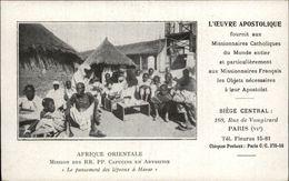 SANTE - LEPRE - LEPREUX - Missionnaire - Afrique - Harar - Ethiopie - Leproserie - Missions - Santé