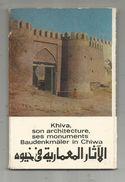 Cp, OUZBEKISTAN , KHIVA , Son Architecture , Ses Monuments , Vierges , 2 Scans , POCHETTE DE 12 CARTES POSTALES - Uzbekistan
