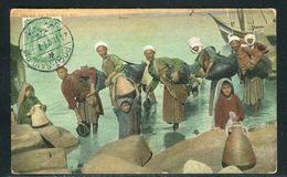 Egypte - Oblitération De Port Saïd Sur Jolie Carte Postale Pour La France En 1907 - Ref JJ 102 - Égypte