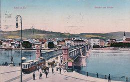 Autriche, Linz A. D., Brücke Und Tramway (206462) - Linz