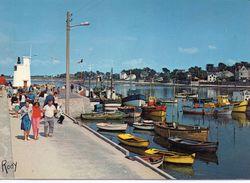 Piriac-sur-Mer Animée La Jetée Le Port Bateaux - Piriac Sur Mer