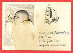 Faire Part Naissance Véronique - Birth & Baptism