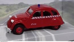"""Citroen 2CV """"MONDO MOTORS"""" - BOMBEROS 1-1-2 / España - Escala 1/43 - Cars"""