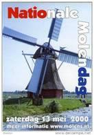 Molen/moulin - STICKER (zelfklever/autocollant) Van De Nationale Molendag (Nederland) 13 Mei 2000 - Stickers