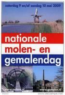 Molen/moulin - STICKER (autocollant/zelfklever) Van De Nationale Molen- En Gemalendag (Nederland) 2009 - Stickers