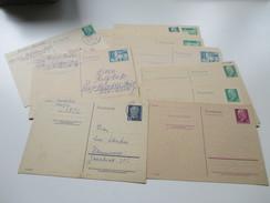 DDR Ganzsachen 24 Stück Gebraucht / Ungebraucht. Interessant?? - Postales - Nuevos
