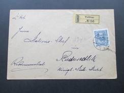 Österreich 1912 Michel Nr. 149 EF Franz Joseph. Rekommandirt R No 56 Waldegg. Stempel: K.K. St. B. - Briefe U. Dokumente