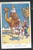 Croquis D'escale -  Port Said - Une Pointe Dans Le Desert    - Illustrateur H. Gervèse    - Odg58 - Gervese, H.