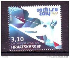 Croatia 2014 Y Sport Olympic Games Sochi MNH - Kroatië