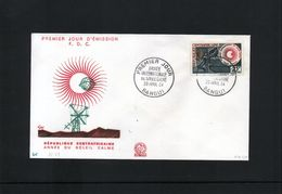 Central African Republic Raumfahrt / Space  - Year Of The Sun FDC - Lettres & Documents