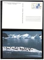 TAAF - 1991 - Carte Postale - Entier Postal - Amiral Max Douguet - Ganzsachen