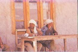 Afghanistan       H5        Shahr'i Zohak.Autour Du Thé ( Hommes ) - Afghanistan