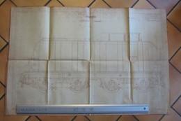 Plan De Matériel De Traction  SNCF 1937 - Machines