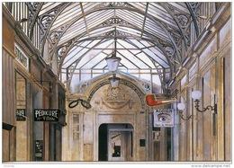 Paris Par Les Peintres Franz Zadrazil : Passage Des Princes Rue Richelieu Au Rendez Vous Des Détectives(Adrien Pipe) Vie - Arrondissement: 02