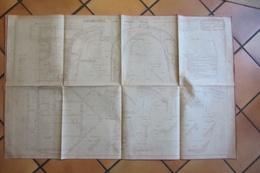 Plan De Locomotive  SNCF  1930 - Machines