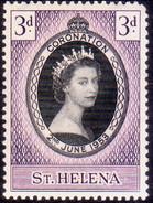 ST HELENA 1953 SG #152 3d MNH Coronation - Isola Di Sant'Elena