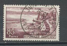 """FRANCE - EVIAN - N° Yvert 1193 Belle Obliteration Ronde De """"MARCIGNY"""" De 1959 - Oblitérés"""