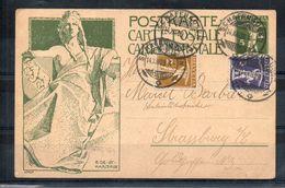 Suisse. Entier Postal/ Carte Postale. Inauguration Du Monument De La Fondation De L'UPU. 14/12/1909 - Entiers Postaux