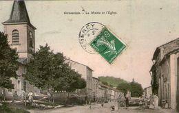 (43)  CPA  Girauvoisin Mairie Eglise    (Bon Etat) - France